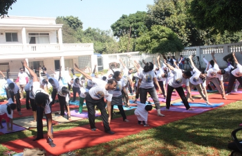 International Day of Yoga (IDY)