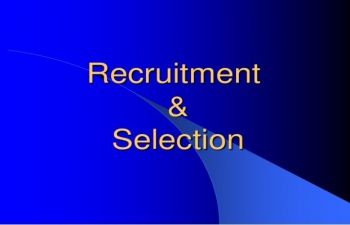 Selection of candidates for appointment to 3rd & 4th slot