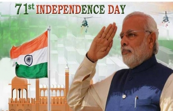 Live Streaming of Independence Day Celebrations and PMs address