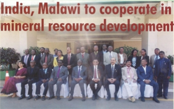 India, Malawi to Cooperate in Mineral Resource Development