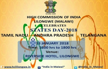 High Commission celebrates STATES DAY-2018