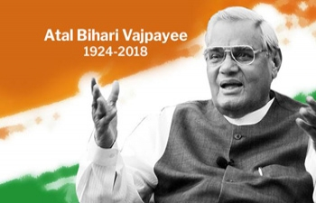 Condolence Book to pay tributes to the former PM of India Sh. Atal Bihari Vajpayee