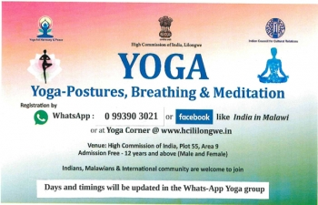 Yoga-Postures, Breathing & Meditation