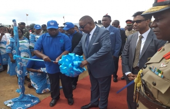 A short while ago HE President of Malawi inaugurated Water Supply System from Likhubula River in Mulanje to Blantyre. Project is financed by Government of India (EXIM Bank) & will benefit more than 300,000 people in region of Blantyre Water Board.