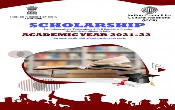 ICCR Scholarship - 2021-2022